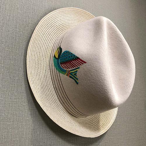 メイド・イン・メキシコの帽子